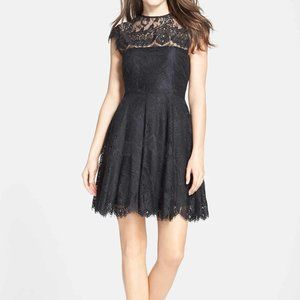 NEW BB Dakota Rhianna Open Back Lace Dress